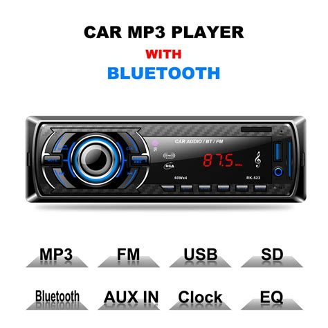 ingresso aux autoradio autoradio bluetooth stereo auto lettore mp3 usb card