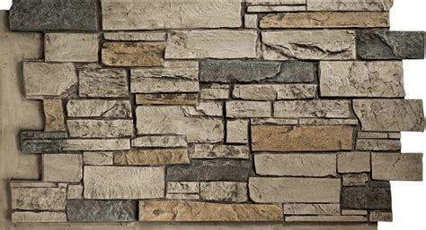 Gemstone Home Decor by Stone Wall Quarry Gray Panels Decor
