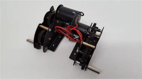 Mato 5 1 Steel Gearbox W Bearing taigen tanks steel v2 bearing gearboxes high low 4 1 48mm