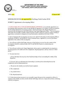 army policy letter template army memorandum template playbestonlinegames