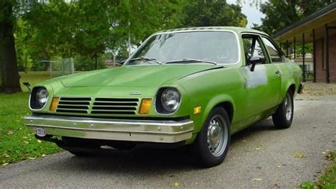 chevy vega green it ain t easy bein green 1975 chevrolet vega