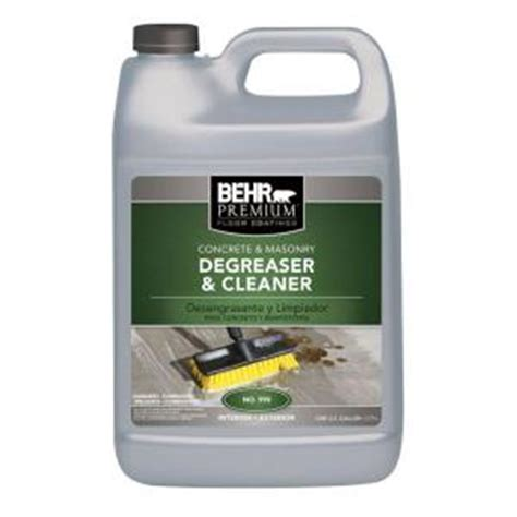 Best Cleaner For Concrete Floors by Behr Premium 1 Gal Concrete And Masonry Cleaner And