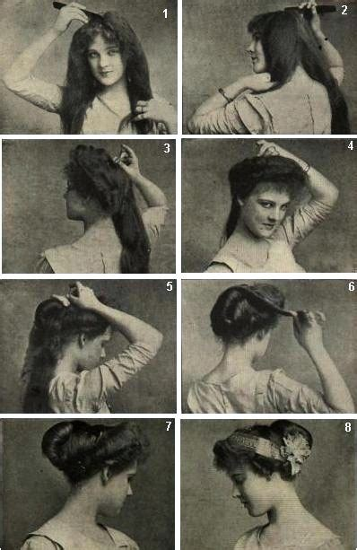 how to style hair for 1900 steunk hairstyling metapunk
