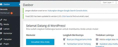 membuat website dengan wordpress online langkah langkah membuat website sendiri dengan wordpress