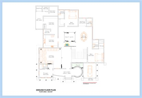 kerala home floor plans unique kerala home plan and elevation kerala home design