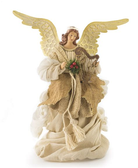 silent night angel tree topper tree classics