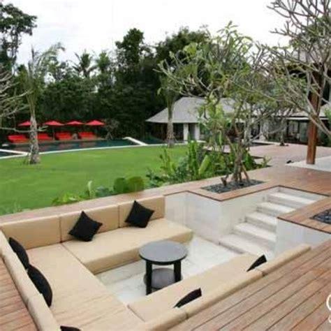 Garden Designs Garden Seating Area Designs Sunken Patio Garden Seating Area Ideas