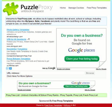 free proxy template proxy template 3 amazing web 2 0 free proxy