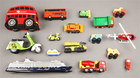 small toy cars learning small and big for kids with street vehicles cars