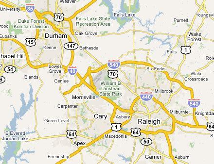 raleigh durham carolina map raleigh durham metro area web design development firms
