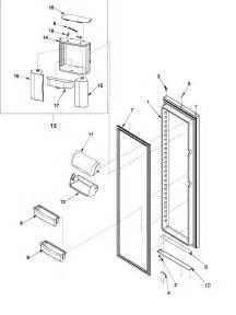 refrigerator parts amana refrigerator parts diagram