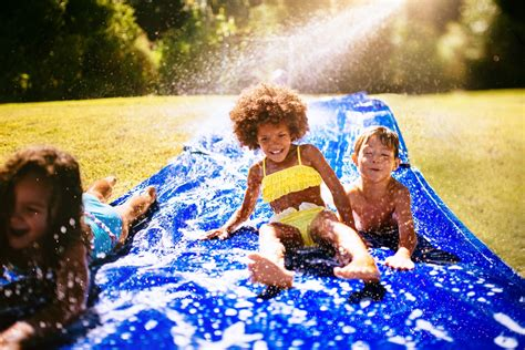 right in your own backyard easy ways to make a water park right in your own backyard