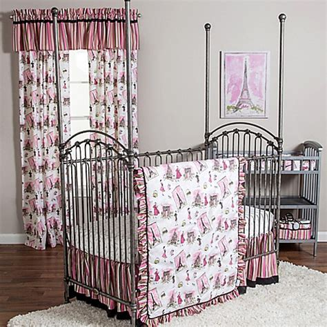 Waverly 174 Baby By Trend Lab 174 Tres Chic Crib Bedding Chic Crib Bedding