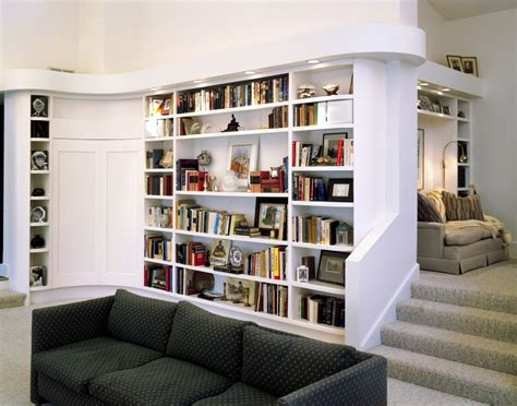 white contemporary bookshelf modern contemporary