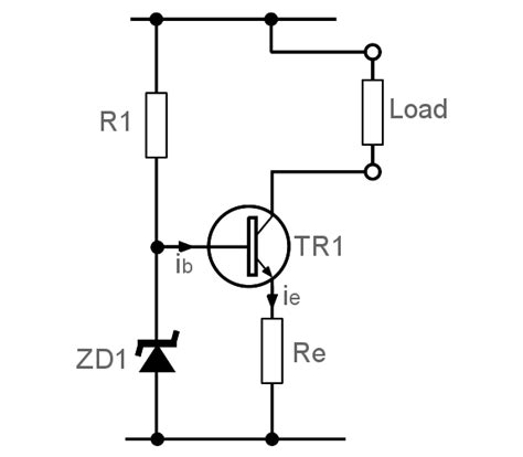 bipolar transistor zener constant current source transistor active source electronics notes