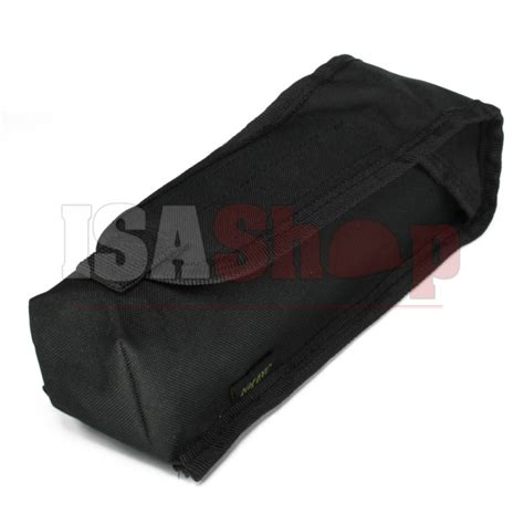molle pouches black molle gasfles pouch black iron site airsoft shop