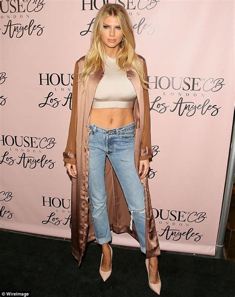 Charlotte McKinney dons Daisy Dukes with a bodysuit and