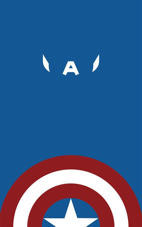 captain america wallpaper minimalist  wallpaper