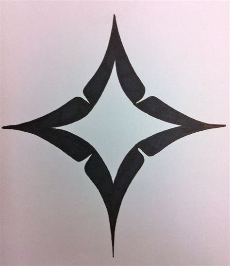 north star tattoo design for maka jinaatlaa monture ink