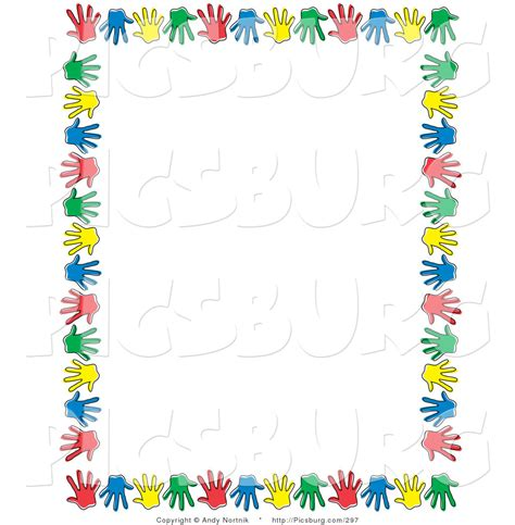 Kids In The Bathroom - hands border clipart china cps