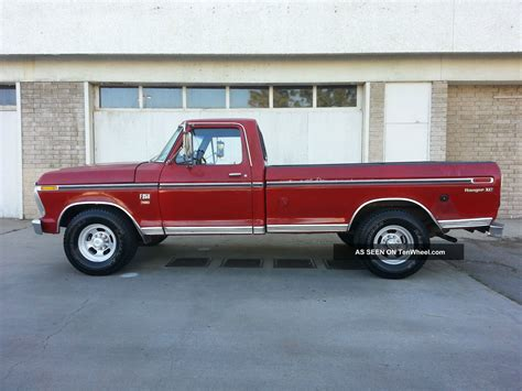 f250 long bed 1976 ford f250 ranger xlt 2wd 460 v8 long bed automatic 76