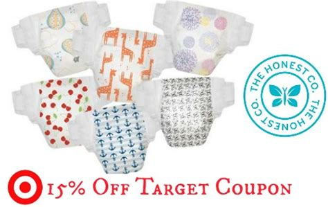 printable honest diaper coupons target coupon 15 off honest company purchase southern