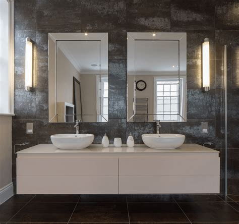 mirror decals for bathrooms 38 bathroom mirror ideas to reflect your style freshome
