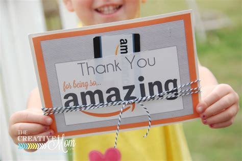 Printable Amazon Gift Card - amazon gift card printable tag the creative mom