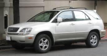 How Much Is Lexus Rx300 1999 2003 Lexus Rx300 The Car