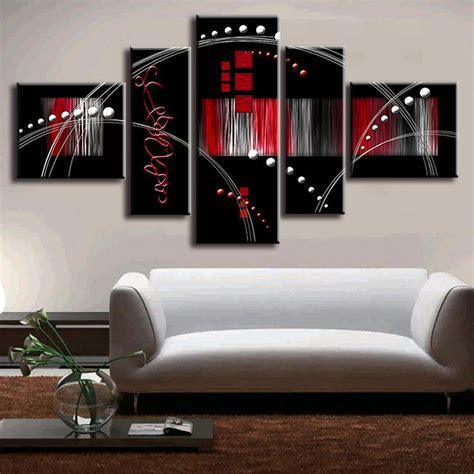 buy 5 pictures set quadros de parede canvas paint