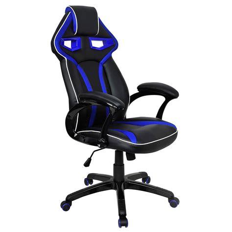 Desk Gaming Chair High Back Racing Seat Gaming Chair Computer Pc Desk Swivel Office Home