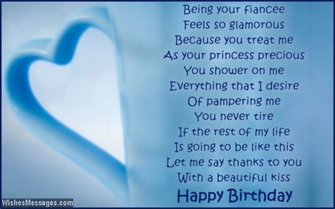 fiance poems birthday poems for fiance wishesmessages