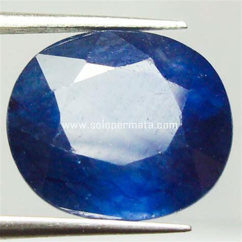 Batu Permata Blue Sapphire Cutting Africa 15 1 Carat batu permata blue sapphire memo 22a02 toko batu akik permata murah
