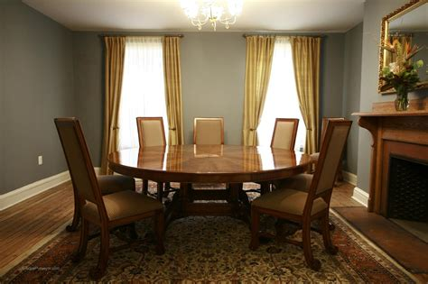 large dining room large oversized round dining table large round mahogany