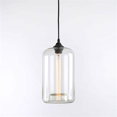 Glass Lighting Pendants Lights Ceiling Lights Pendants Heights Cylinder Glass Pendant