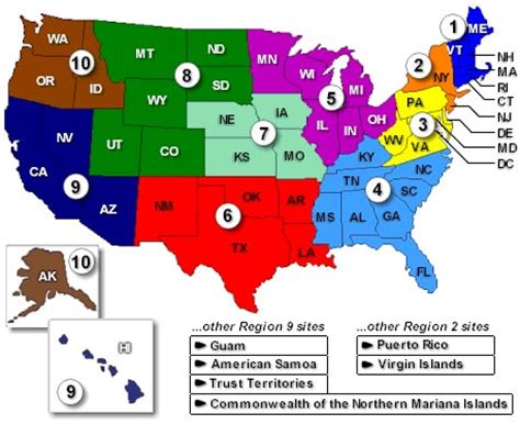 map of the united states broken into regions good up high bad nearby what is ozone