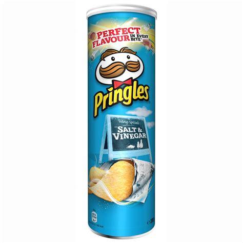 Pringles Salt Vinegar pringles salt vinegar 200g food crisps b m