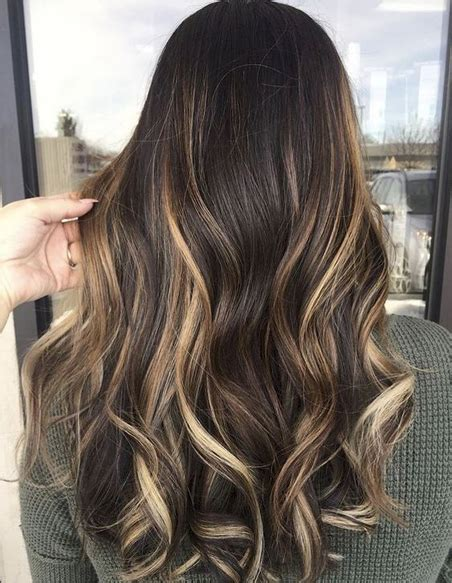 balayage hair colors for 2018 best hair color ideas trends in 2017 2018 top 11 balayage hair colors 2018 for brunettes