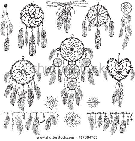 pattern dream meaning dreamcatcher stock images royalty free images vectors