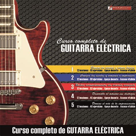 libro curso completo de guitarra curso completo de guitarra el 233 ctrica aprenda sin salir de casa