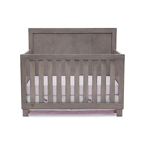 Simmons Kids 174 Bellante 4 In 1 Convertible Crib In Stained Simmons Convertible Crib