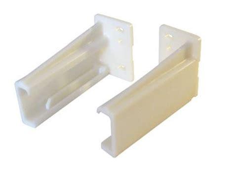 kv drawer slide rear mounting bracket drawer slides kv rear mounting socket plastic pair