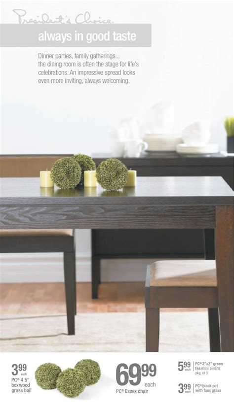loblaws home loblaws presidents choice home products by dacks at