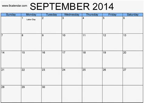 free downloadable calendar template free printable calendar 2017 september 2014 calendar