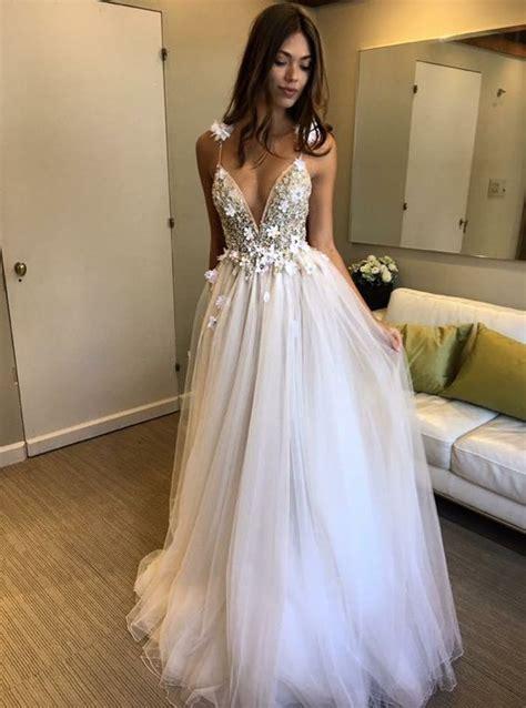 Enfocus Blue Flowers Vneck Dress Original 2017 v neck floral prom dress backless prom dresses upscale custom made evening dress
