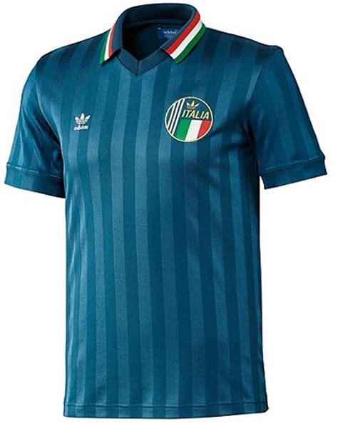 Tshirtkaos Adidas Football 1 adidas mens italy retro football tshirt top f77314 tribe blue xs s m l xl new ebay