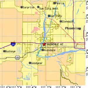 avondale arizona map avondale images