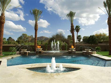cool swimming pool water fountain homesfeed