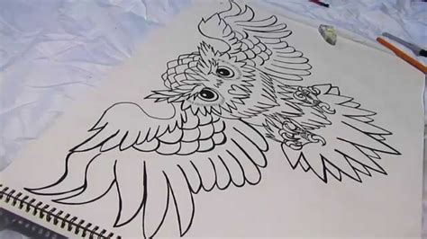 your typical owl chest tattoo youtube