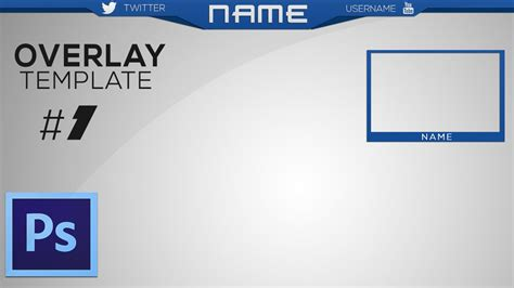 New Free Twitch Youtube Overlay Template Speed Art Hd 2015 Youtube Overlay Template